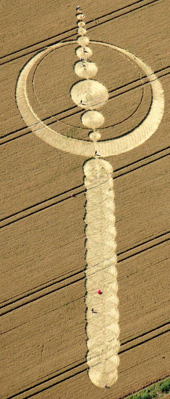 Cerchi nel grano: per la quarta volta indicano il 4 agosto 2012! Http://dixpic.wordpress.com