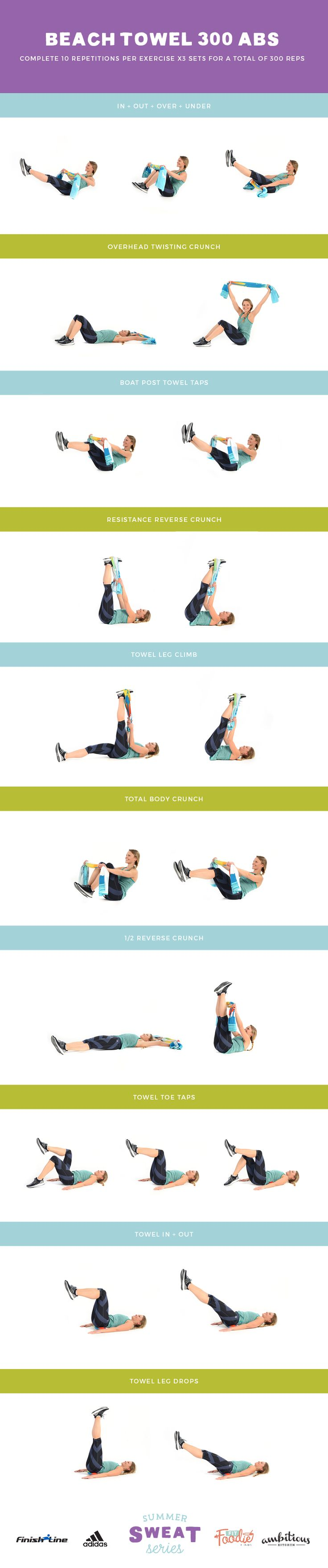 300 ab workout: A killer workout you can do anywhere and feel the burn. All you…
