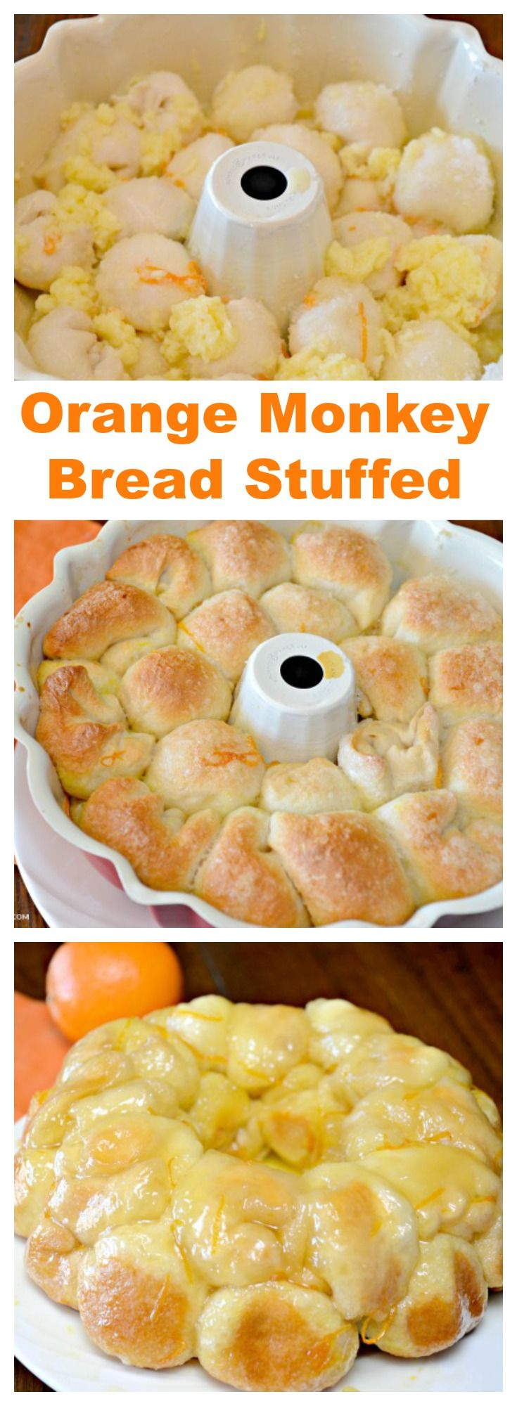 This Orange Monkey Bread is made with butter, sugar, biscuits, orange zest and…