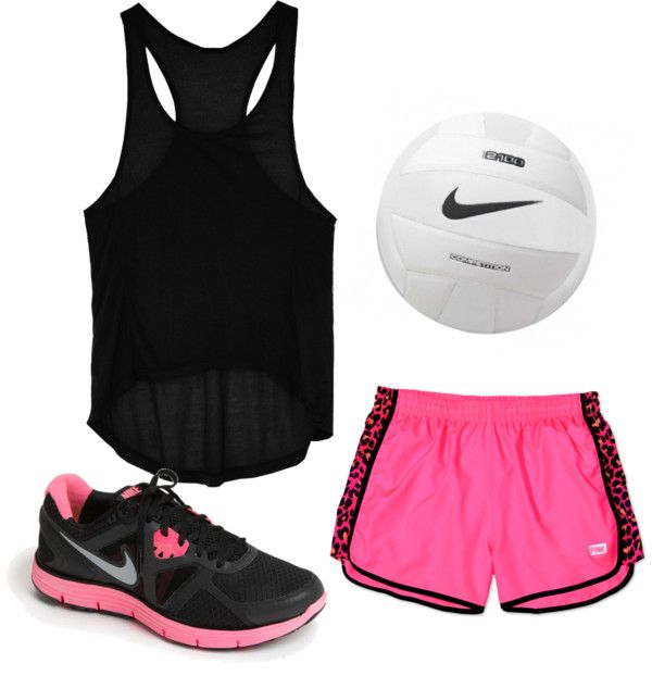 Volleyball outfit<3 when I go school clothes shopping I'm getting almost all (cute) exercise clothes... So comfy...