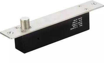 Электромеханический замок Tantos TRD-1086С TRD-1086С Tantos TRD-1086С - замок представляет собой современную модель электромеханического соленоидного замка. Он имеет функцию блокировки и разблокировки при включении. Питание замка подключается кисточнику питания, что позволяет управлять работой замка как входа управления, так и подачей напряжения питания.Для случая разблокировки замка при подаче питания необходимо использовать вход управления. Ригель с защитой от саботажа, защита от помех…