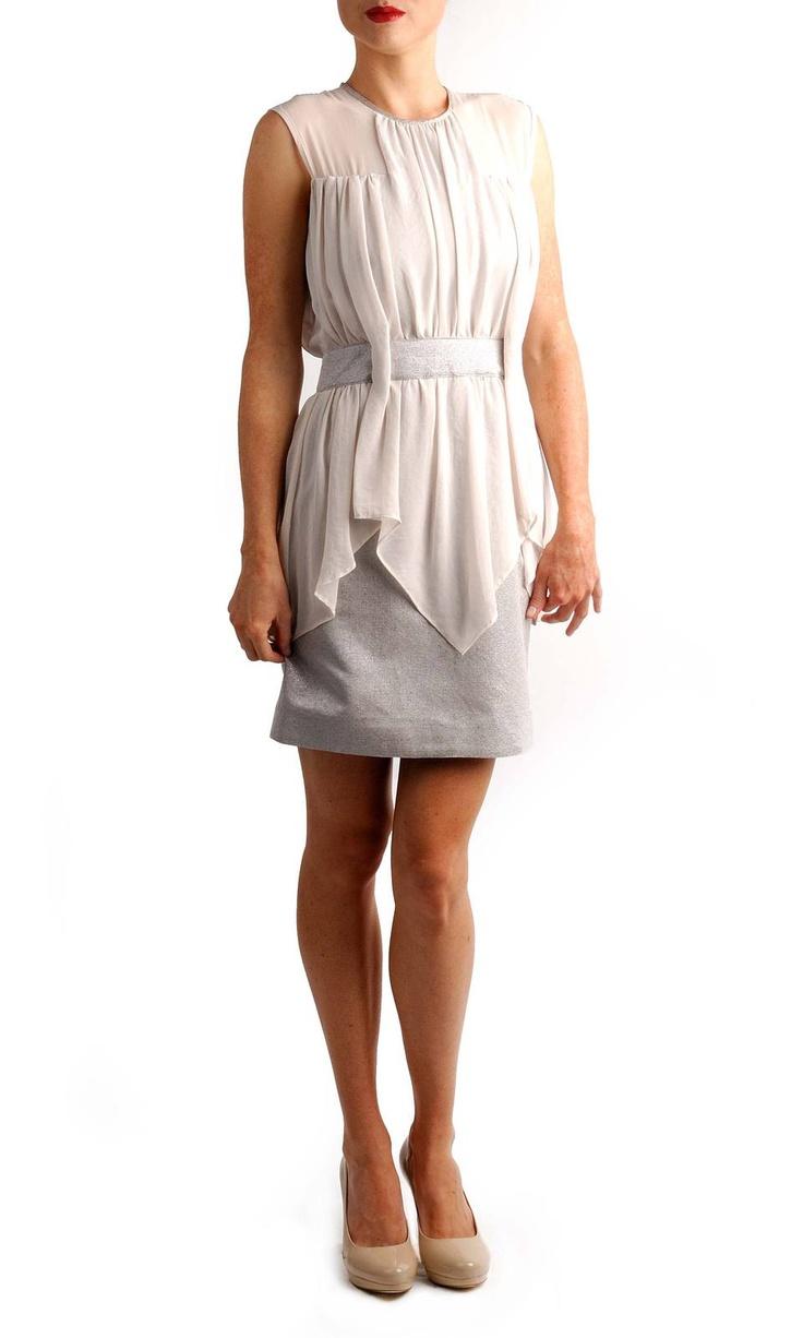 Nicola Finetti - Contrast Apron Dress