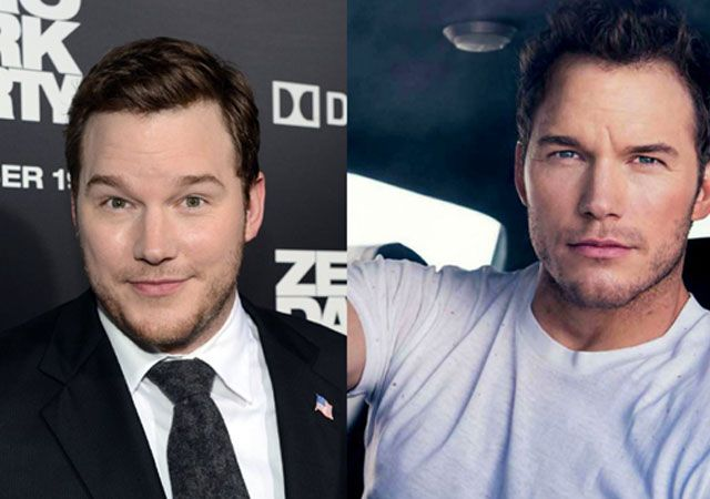 Chris Pratt Ripped Off the Fat in a Healthy Way...