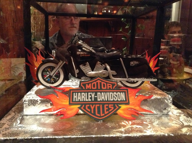 How To Make A Harley Davidson Cake