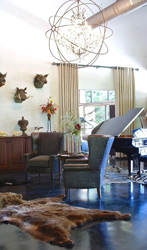 Home Tour Safari Glam Meets Industrial Chic Decor Styles Decoratingstylestypesofinterior