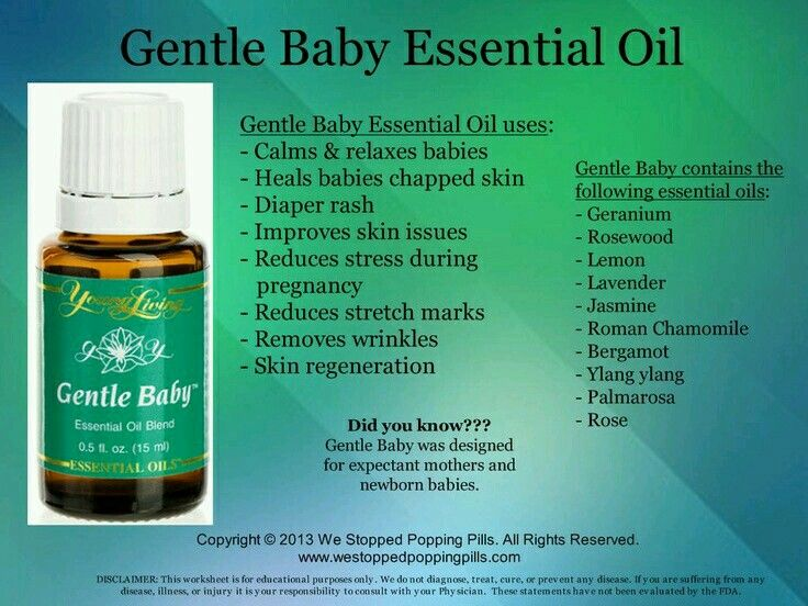 17 Best images about Gentle Baby Young Living on Pinterest ...