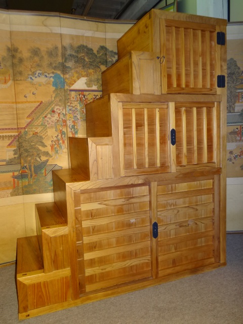 how to build a tansu step chest