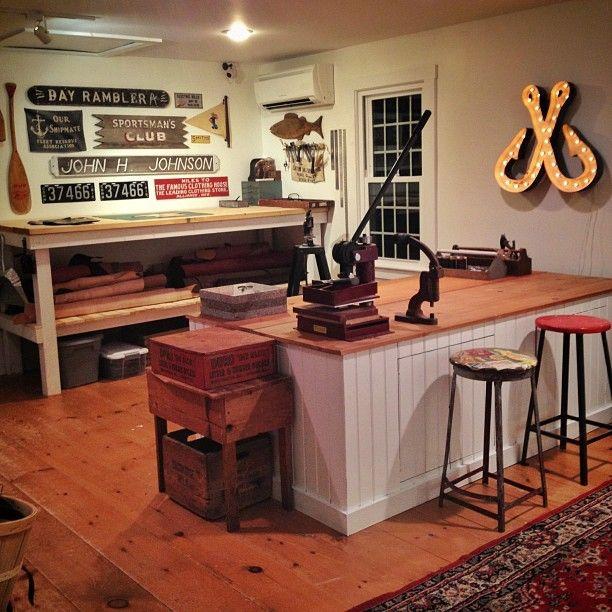 Corter Leather workshop