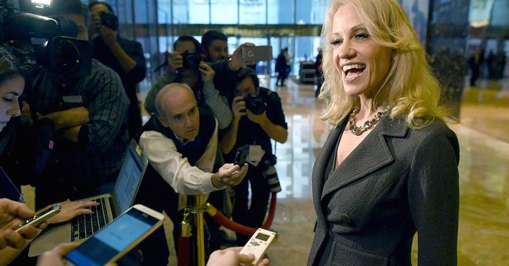 Journalists should stop interviewing Kellyanne Conway