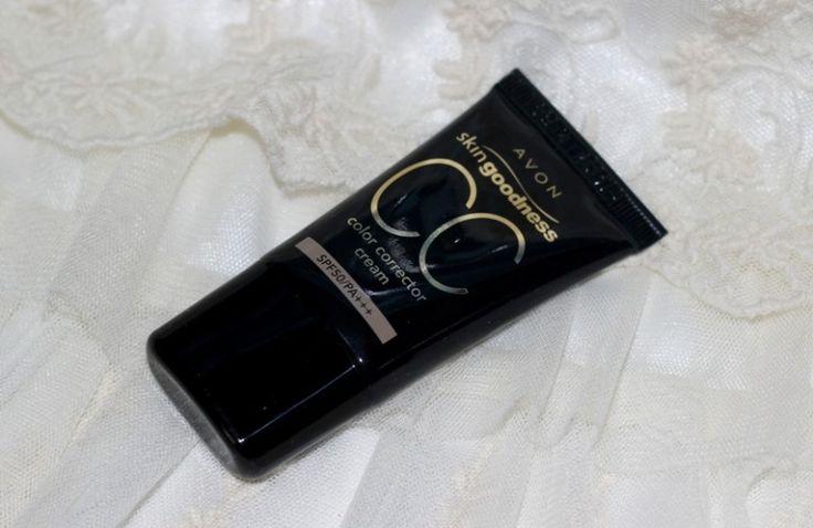 AVON Skin Goodness CC Cream #cccream #AVON #AVONCC #bblogger