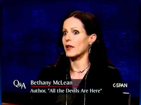 """Bethany McLean, Author, """"All The Devils Are Here"""""""
