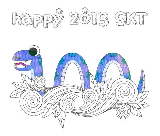 Happy 2013 SKT @SKT 4G LTE