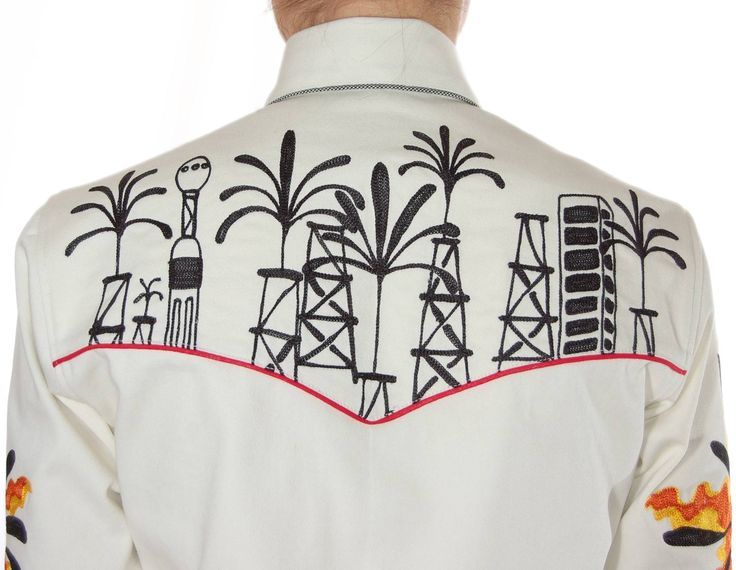 Handmade Western Shirt #345 - San Antonio Fritz - Western Wear for Rocket, Ranch & Rodeo