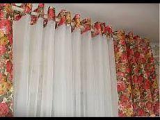 Делаем окна красивыми. Изготовление штор без пошива
