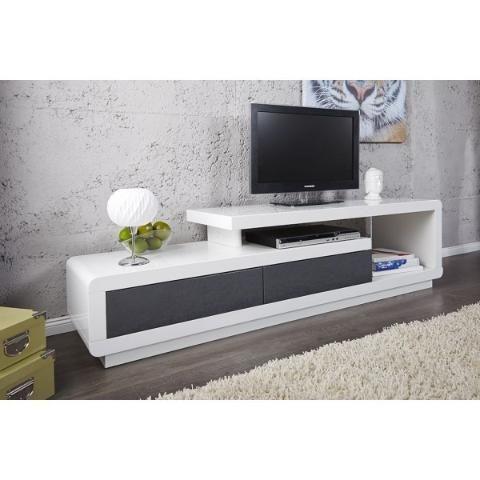 Mueble De Tv Moderno En Madera Lacada Ref: Artaban