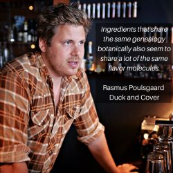 Rasmus Poulsgaard from Duck and Cover on flavor pairing.