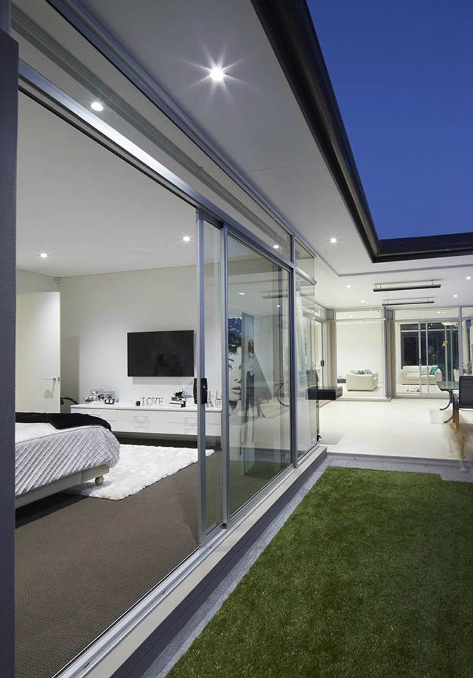 Sliding glass doors are very stylish and modern doors which are durable and energy efficient also. The reliable aluminium frame makes a door more stylish. Doberman windows and door is offering high-quality window and door in the region.
