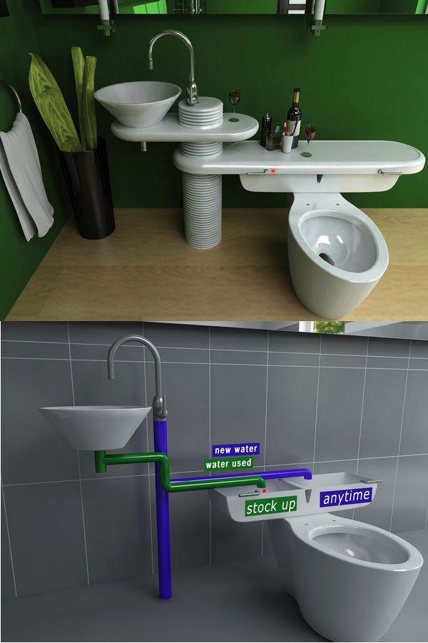 eco-bath-system, jang-woo-seok, sink-flush, pia-economica-privada, pia-ligada-na-privada, economia-de-agua, agua-h2o, economizar-agua, por-que-nao-pensei-nisso 99