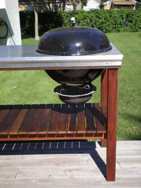 37 best kettle carts images on pinterest bar grill bbq table and grill table. Black Bedroom Furniture Sets. Home Design Ideas