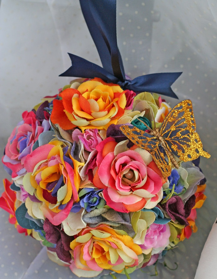 Reserved custom order for danielle bohemian hippie for Where to buy rainbow roses