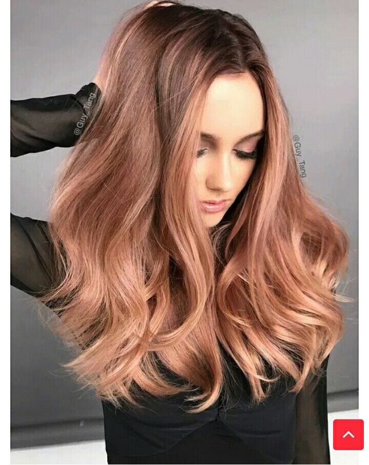 Pin by Napsugár Gyenge on Haj színek Metallic hair, Hair