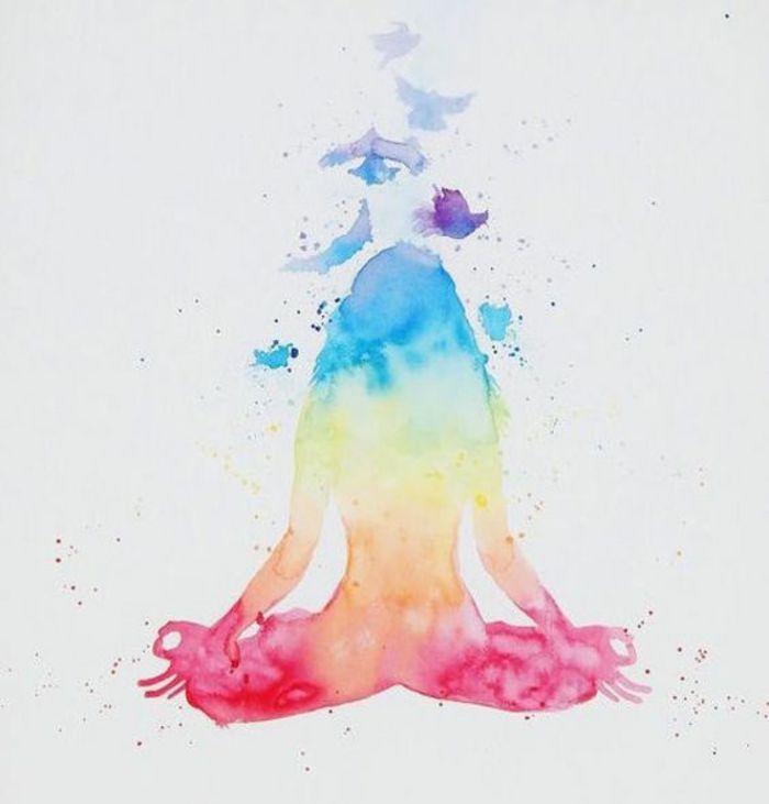 1001 Idees Pour Savoir Comment Vaincre La Fatigue Des Astuces Decoration Yoga Couleur Chakra Meditation
