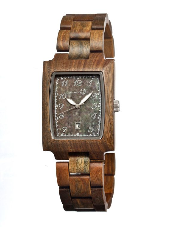 Earth Cork Wood Watch All Natural Tree Wooden by eFashionWatches, $125.00