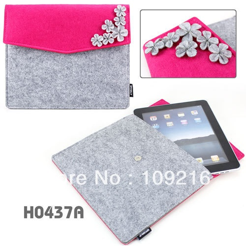 Free shipping!! 1pcs Two Tone Cute Felt Flower Grils' Sleeve Case Pouch Envelope Clutch Bag for ipad2/for ipad3 on AliExpress.com. 5% off $21.55
