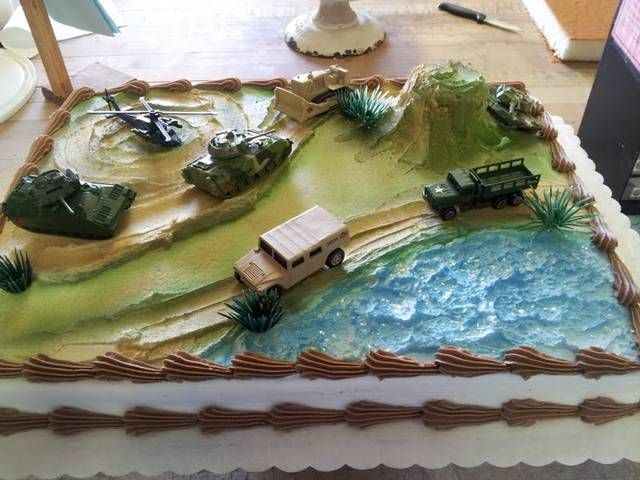 124 best Army party images on Pinterest Birthdays Military party