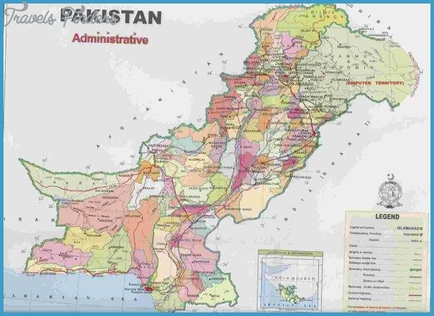 Pakistan Map - http://travelsfinders.com/pakistan-map.html