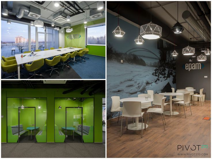 The new EPAM office  - which can be found at a former secondary school in Szeged - is modern and clean both in external and internal appearance. When designing it, we considered it important, that the we grant a creative space for working for the employees.For more pictures click here:  http://pivot270.com/hu/portfolio/epam-szeged/ #pivot270 #interior #design #officedesign #office #iroda #decoration #epam