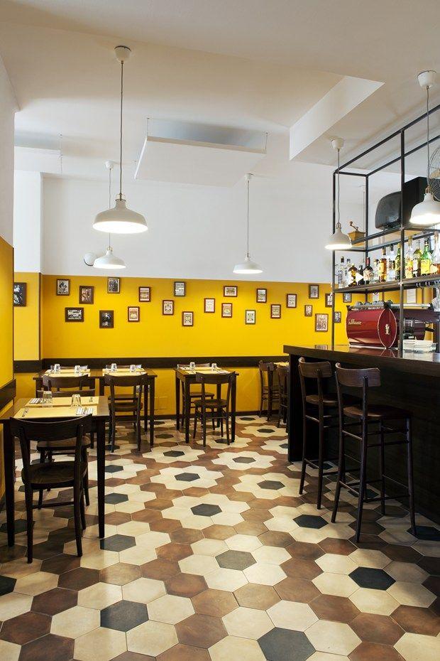 Fap ceramiche per il ristorante Trippa, Milano