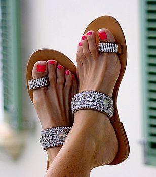 Sandals. Summer