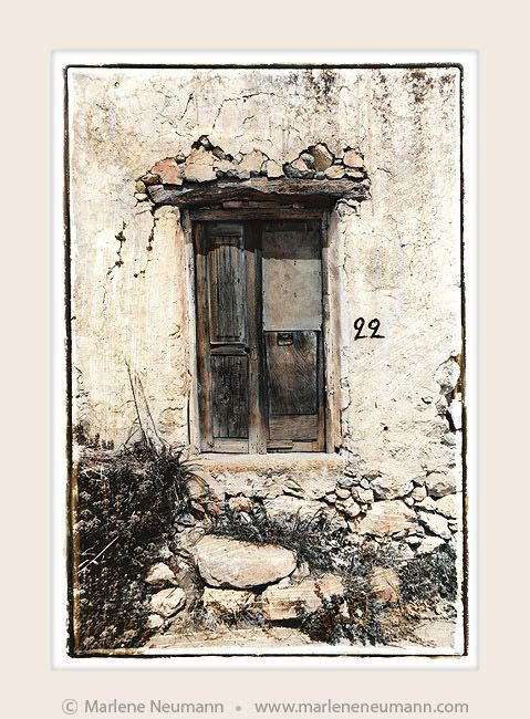 """""""Doorway No.22"""" - Timeless black and white Fine Art Photography by Master Fine Art Photographer Marlene Neumann. Decor. Gifts. Art for your home and office. www.marleneneumann.com"""