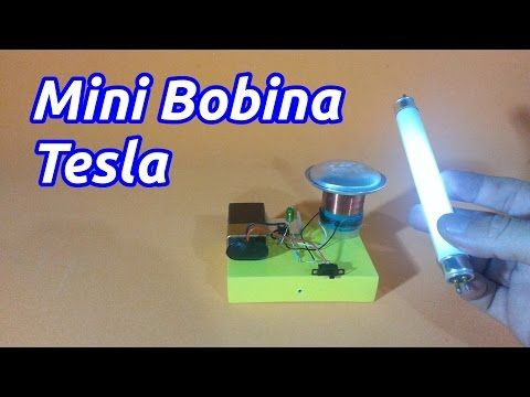 Mini Bobina Tesla - YouTube