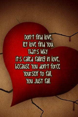 Best Love Quotes You Just Fall