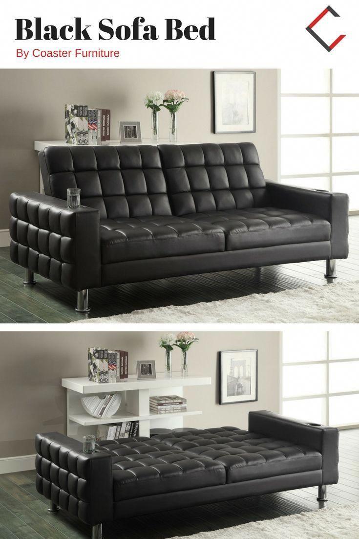 Coaster Furniture Black Sofa Bed Coasterfurniture