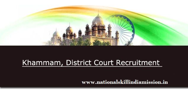Prl District & Session Court, Khammam-recruitment-03 vacancies-Process Server-Pay Scale : Rs. 15460-47330/--Apply Now-Last Date 28 January 2017  Job Details :  Post Name : Process Server No of Vacancy : 03 Posts Pay Scale : Rs. 15460-47330/- Eligibility Criteria :  Educational Qualification : must have passed VII standard examination.. Nationality : Indian Age Limit : 18 to 34 years As on 01.07.2016 Job Location : Telangana  Selection Process :