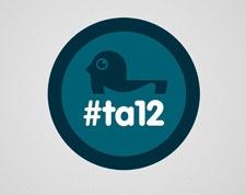 #TA12 tutta la brand Identity , anche le grafiche di #cromobox ad opera del grande @stailuan