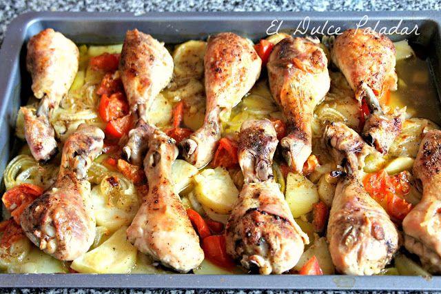 El dulce paladar: Jamoncitos de pollo al horno a la cerveza