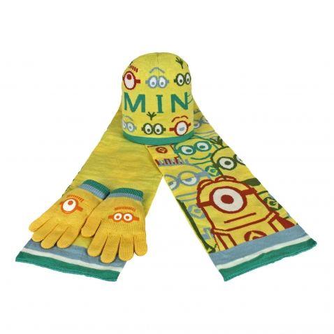 Já padouch - Mimoni šála, rukavice a čepice