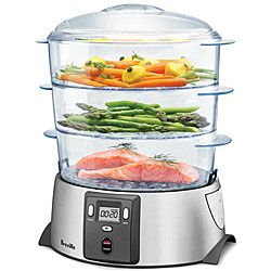 Breville Health Smart Steamer: Cook your food without oils and unnecessary additives. $39.99
