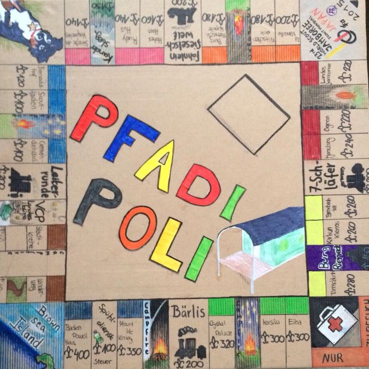 Pfadfinder-Monopoly                                                       …