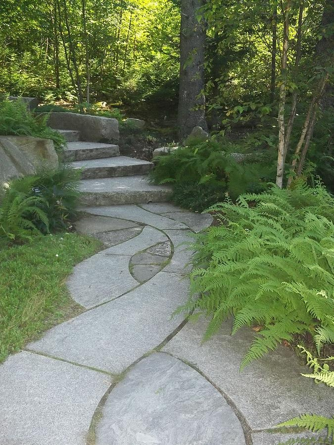 201 best images about pathways on pinterest pathways for Cement garden paths
