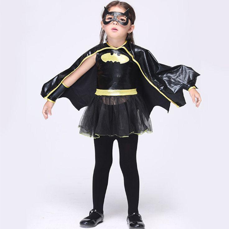 2017 Newest Halloween Wholesale Performance Costume Cosplay Batman Performance Costumes Dance Dress Novelty Children Sets Cs245 #Affiliate