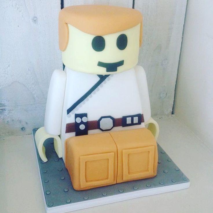 Lego Man Cake #sugarboutique #lego #cake