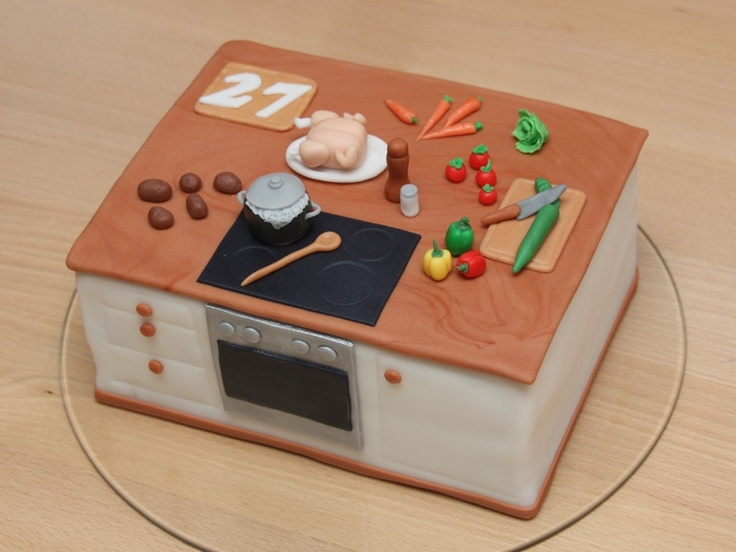Kitchen - Cake for a cook