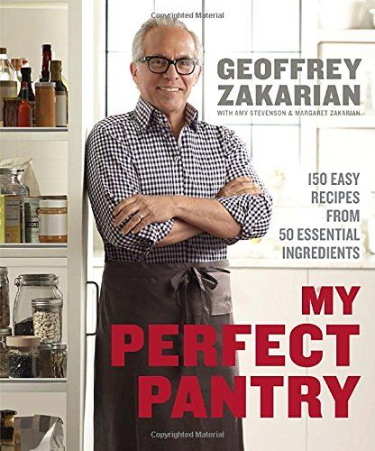 My Perfect Pantry: 150 Easy Recipes from 50 Essential Ingredients by Geoffrey Zakarian http://www.amazon.com/dp/0385345666/ref=cm_sw_r_pi_dp_2oUvub07296BY