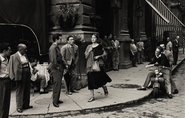 """Ruth Orkin, """"An American Girl in Italy,"""" 1951, printed later (Est. $10/15,000)"""