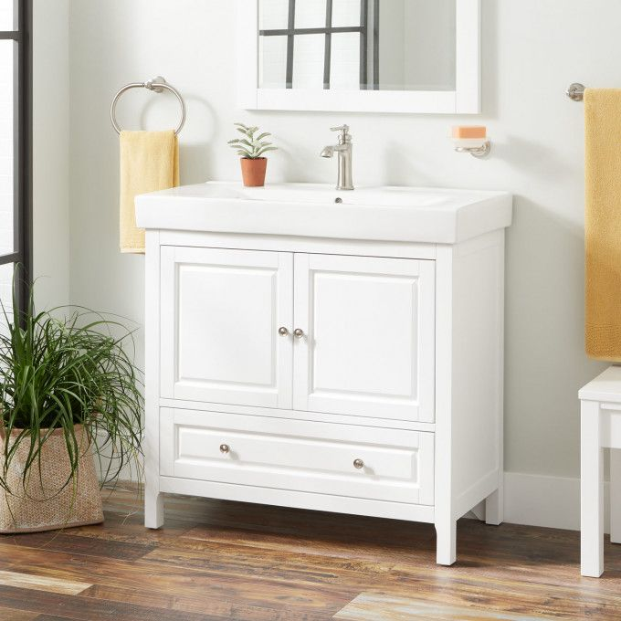 35 Drummond Vanity White With Images Bathroom Vanity Bathroom Furniture Vanity